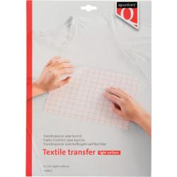 Inkjet transferpapier voor textiel Quantore lichte kleding