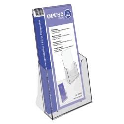 Folderhouder OPUS 2 1/3 A4 acryl