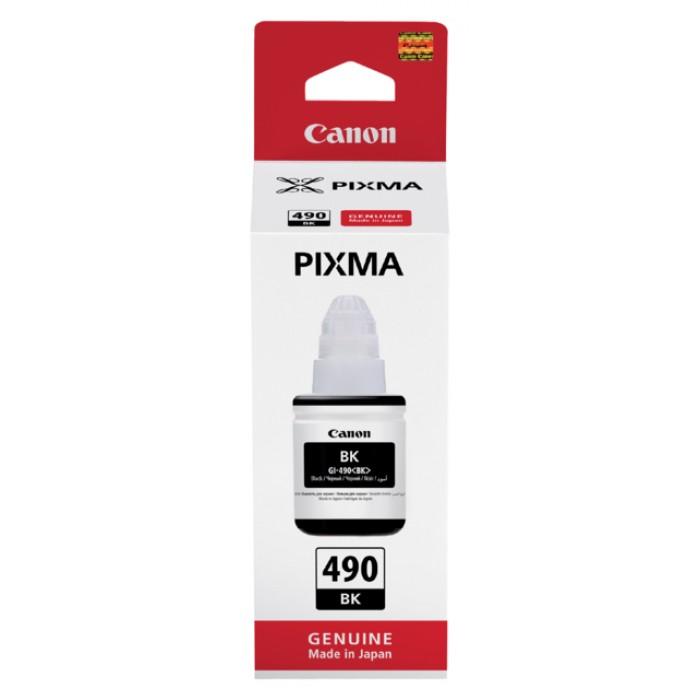 Flacon navulinkt Canon GI-490 zwart