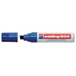 Viltstift edding 800 schuin blauw 4-12mm