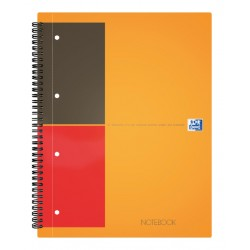 Spiraalblok Oxford International Notebook A4 gelinieerd