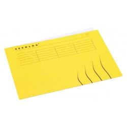 Vouwmap Jalema Secolor A4 gelijk geel