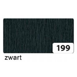 Crepepapier Folia 250x50cm nr199 zwart