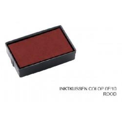 Stempelkussen Colop 6E/10 rood