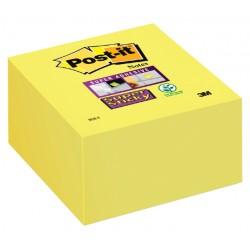 Memoblok 3M Post-it 2028S kubus Super Sticky ultra geel 350v