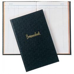 Brievenboek Atlanta gelineerd 200blz 80gr zwart