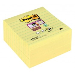 Memoblok 3M Post-it Z-Notes 100x100mm S440 Super Sticky geel