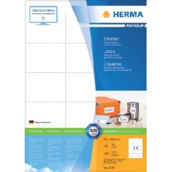 Etiket Herma 4278 70x50.8mm premium wit 1500stuks