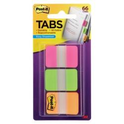 Indextabs 3M Post-it 686PGO strong roze/groen/oranje