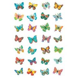 Etiket Herma 6819 vlinder glimmer folie