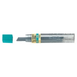 Potloodstift Pentel 0.7mm zwart per koker 2H