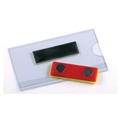 Badge Opus 2 magnetisch 40x75mm