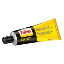 Contactlijm Pattex transparant tube 50gram op blister