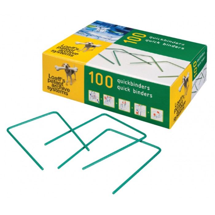 Bundelbeugel Loeff 1215 Quickbinder 100mm groen