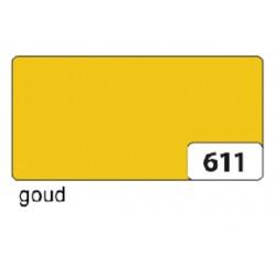 Etalagekarton folia 48x68cm 380gr nr611 goud