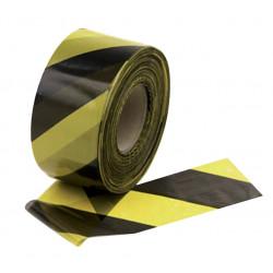 Signaliseringslint 250 meter geel zwart