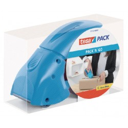 Handdozensluiter Tesa Pack 'N Go blauw