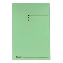 Dossiermap Esselte manilla 3klep folio groen