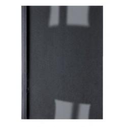 Thermische omslag GBC A4 1.5mm linnen zwart 100stuks