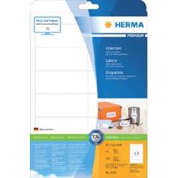 Etiket Herma 5056 96.5x42.3Mm premium wit 300stuks