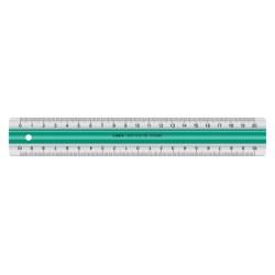 Liniaal Linex super S20 200mm transparant