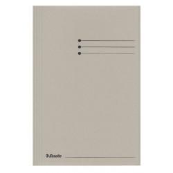 Dossiermap Esselte manilla 3klep folio grijs