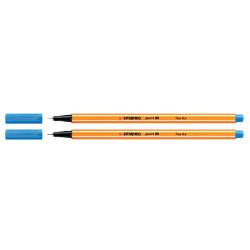 Fineliner STABILO point 88/22 pruissisch blauw