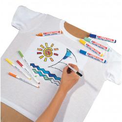 Viltstiften voor textiel