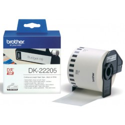 Etiket Brother DK-22205 62mm 30-meter wit papier