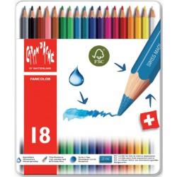 Kleurpotloden Caran d'Ache Fancolor 18stuks assorti
