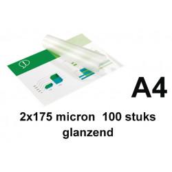 Lamineerhoes GBC A4 2x175micron 100stuks