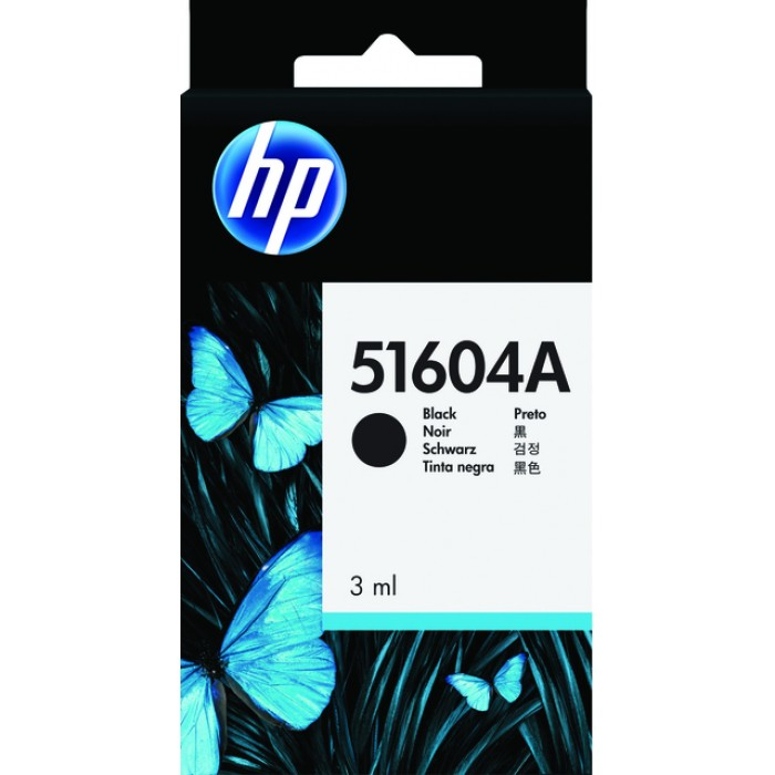 Inkcartridge HP 51604A zwart