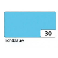 Fotokarton Folia 2zijdig 50x70cm 300gr nr30 lichtblauw