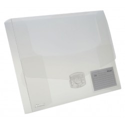 Elastobox Rexel ice 40mm transparant