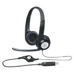 Headset Logitech H390 On Ear zwart