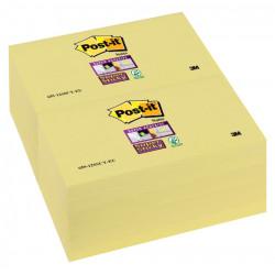 Memoblok 3M Post-it 655-SSY Super Sticky 76x127mm geel