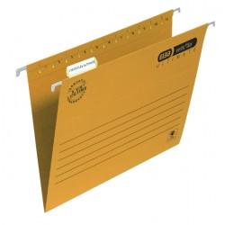 Hangmap Elba Verticflex A4 V-bodem geel