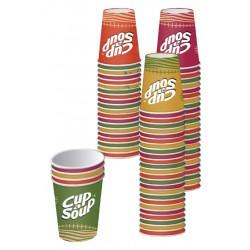 Beker Cup-a-soup karton 1000 stuks (20 rol van 50 stuks)