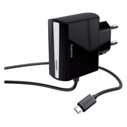 Oplader Hama USB-Micro 1.2A 1 meter zwart