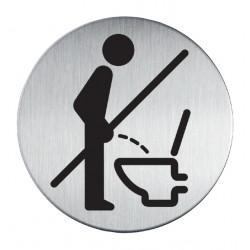 Infobord pictogram Durable 4921 verboden Staand urineren