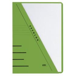 Insteekmap driehoeksmap Jalema Secolor A4 groen