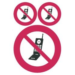 Etiket Herma 5784 GSM verboden 1 stuks
