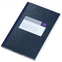 Notitieboek Atlanta 165x105mm 128blz blauw